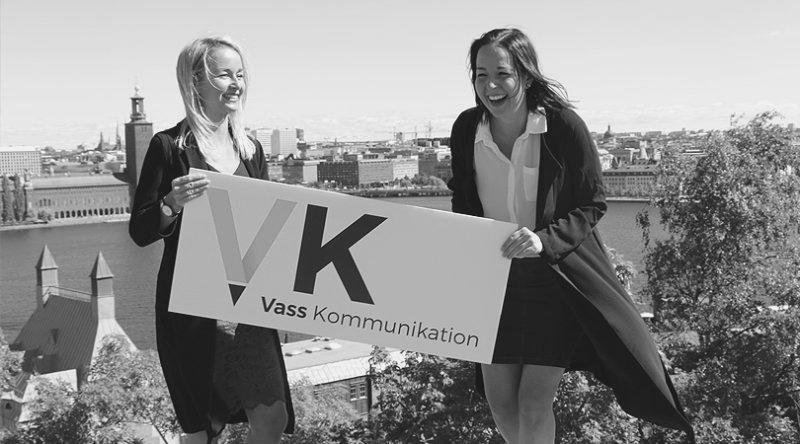 Hur Vass Kommunikation grundades - blod, svett och tårar
