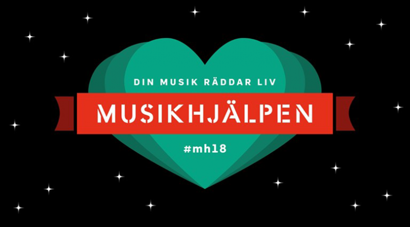 Musikhjälpen 2018 logotyp