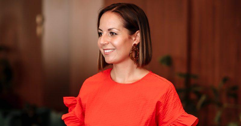 Vass Kommunikations medarbetare Johanna Engström entreprenör och medgrundare av Vass Kommunikation