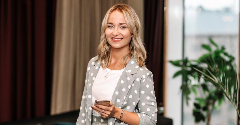 Helena Engström, vd på Vass Kommunikation i Stockholm