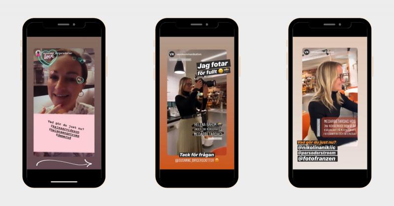Vass Kommunikations veckans snackis i VK snackar Digitalt challenge på Instagram